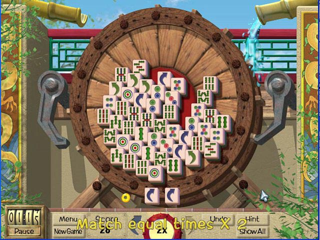 Spiele Screenshot 1 Mahjong Garden To Go