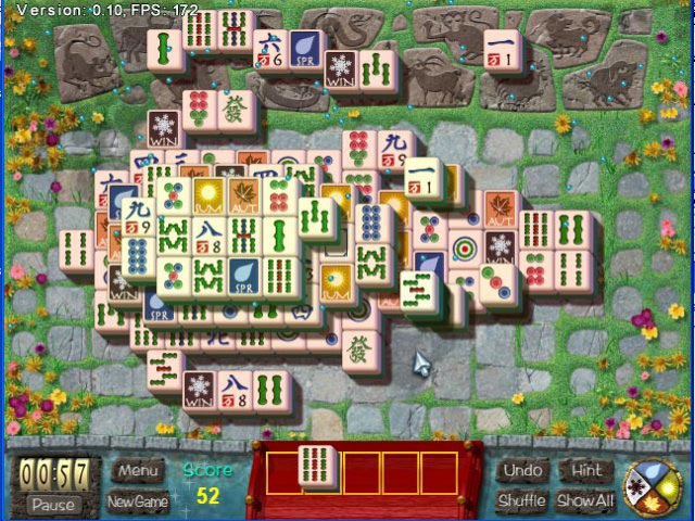 Spiele Screenshot 2 Mahjong Garden To Go