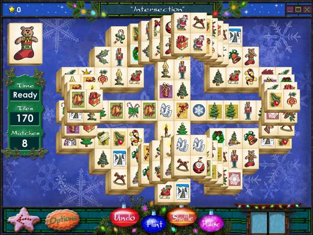 Game screenshot 2 Mahjong Holidays 2006
