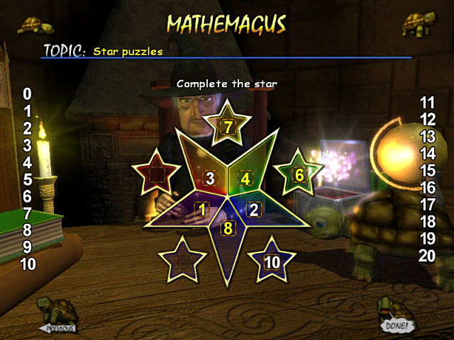 Game screenshot 1 Mathemagus