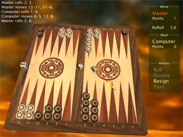 Spiele Screenshot 2 MaxGammon