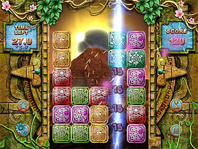 Game screenshot 2 Mayan Puzzle