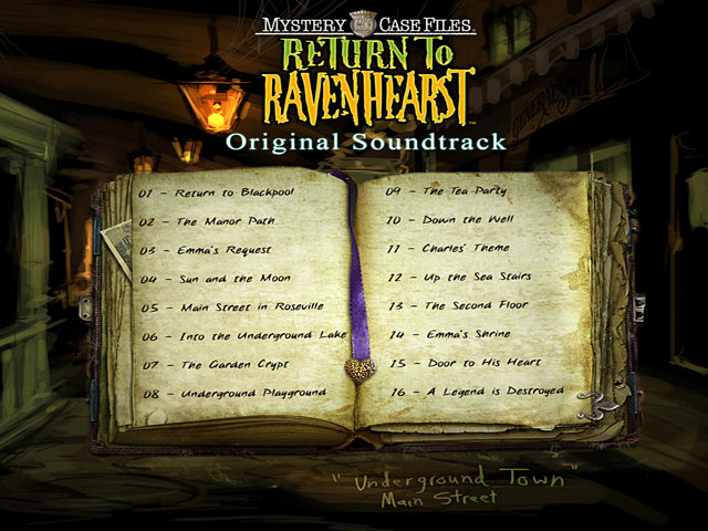 Mystery case files return to ravenhearst original for Big fish soundtrack