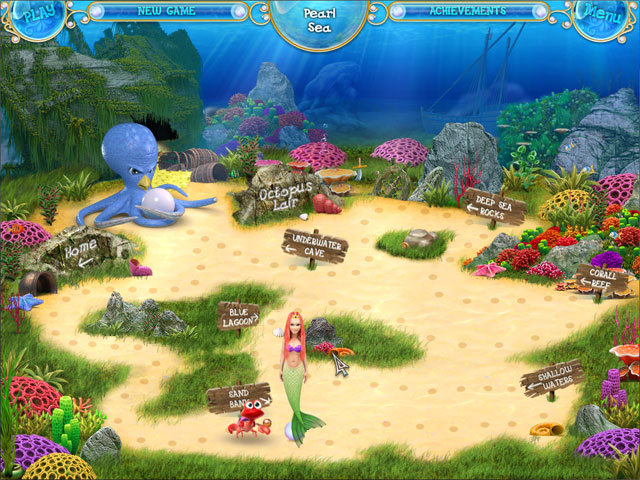 Game screenshot 3 Mermaid Adventures: The Magic Pearl