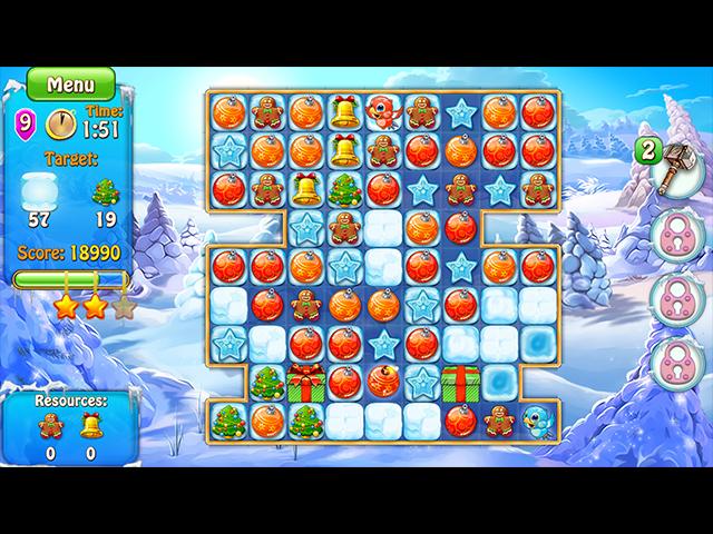 Game screenshot 1 Merry Christmas: Deck the Halls