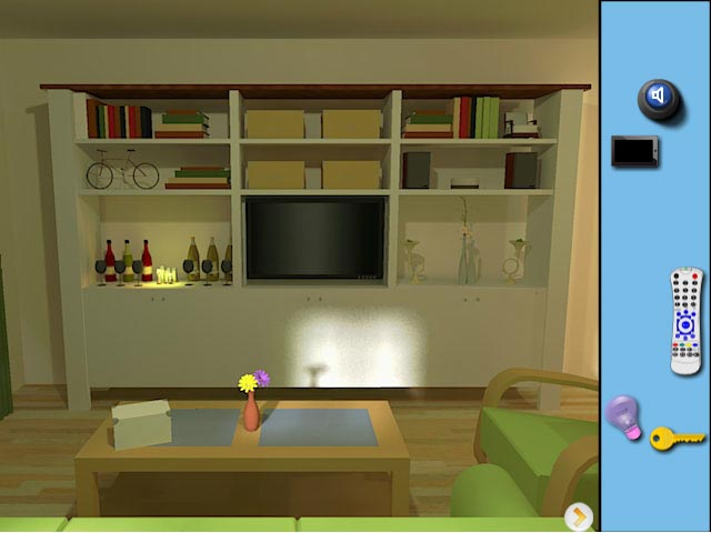 Modern house escape play online mycasulagames download for Minimalist house escape 4