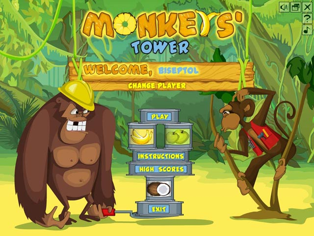 Game screenshot 1 Monkey's Tower
