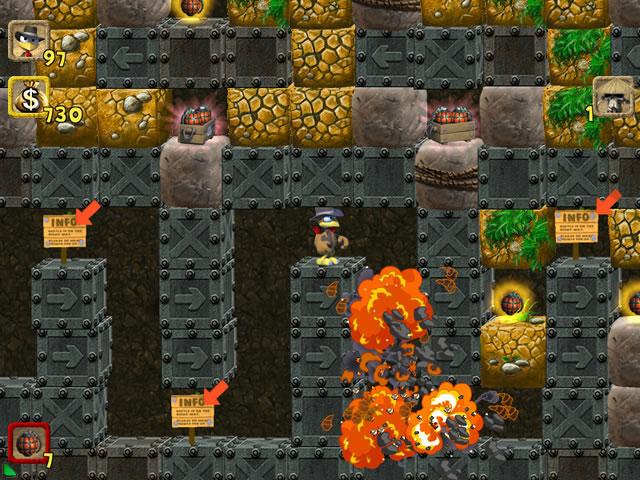 Game screenshot 2 Moorhuhn: The Jewel of Darkness