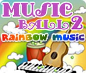 Feature screenshot game Musicball 2: Rainbow Music