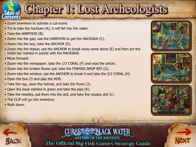 Game screenshot 1 Mystery of the Ancients: The Curse of the Black Water Strategy Guide