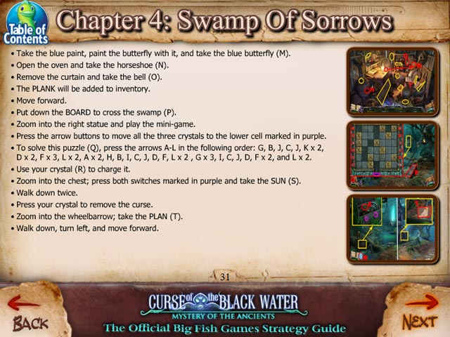 Game screenshot 2 Mystery of the Ancients: The Curse of the Black Water Strategy Guide