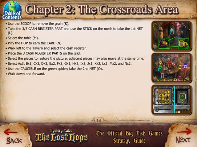 Game screenshot 3 Mystery Tales: The Lost Hope Strategy Guide