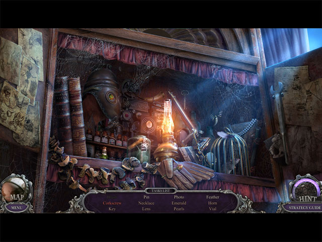 Game screenshot 1 Mystery Trackers: Blackrow's Secret Collector's Edition