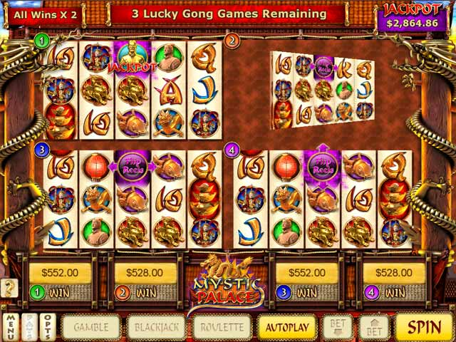 Game screenshot 1 Mystic Palace Slots
