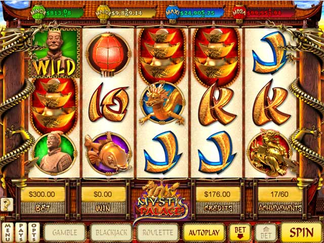 Game screenshot 3 Mystic Palace Slots