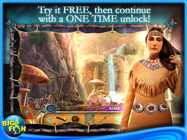 Screenshot for Myths of the World: Spirit Wolf Collector's Edition