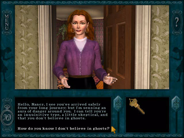 Game screenshot 1 Nancy Drew: Message in a Haunted Mansion