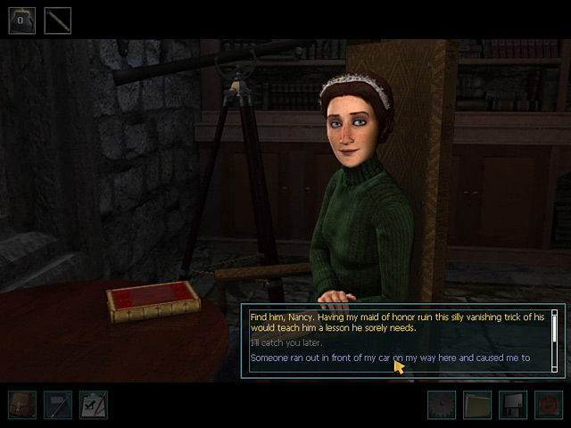 Nancy drew the haunting of castle malloy hints