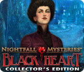 Nightfall Mysteries: Black Heart Collector's Edition screen