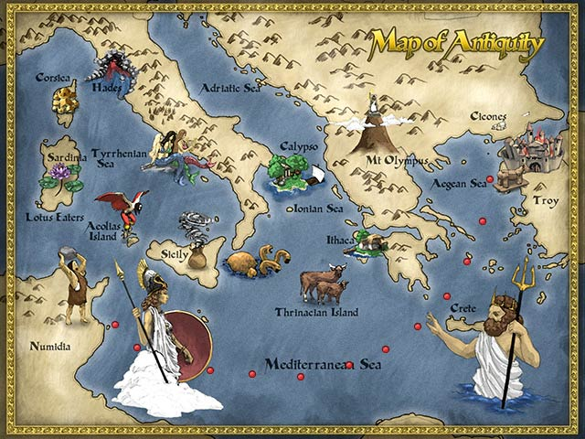 Game screenshot 2 The Odyssey - Winds of Athena