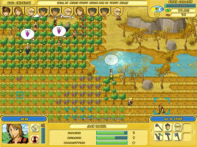 Game screenshot 1 Orchard