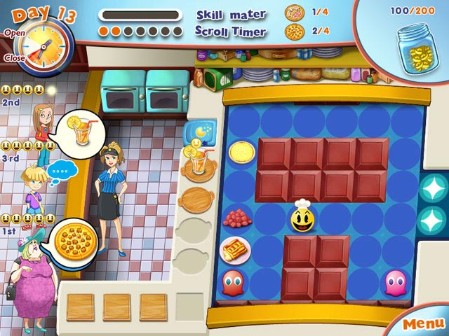 PAC-MAN Pizza Parlor Screenshot-1