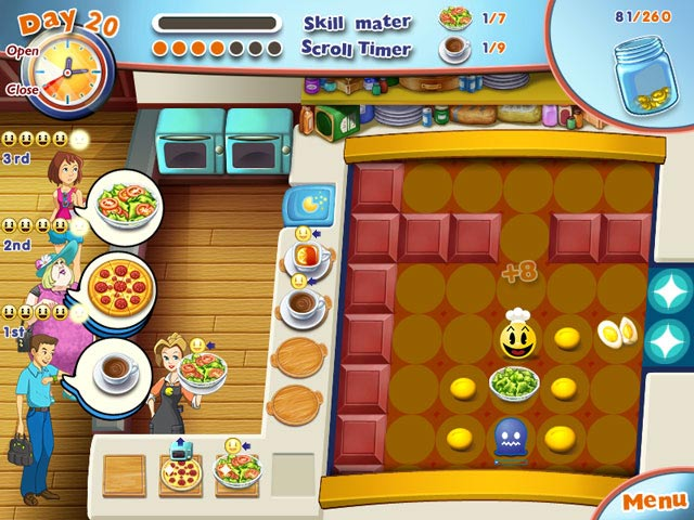 PAC-MAN Pizza Parlor Screenshot-3