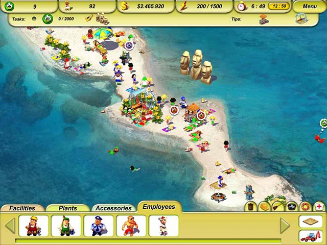 Game screenshot 1 Paradise Beach 2: Around the World
