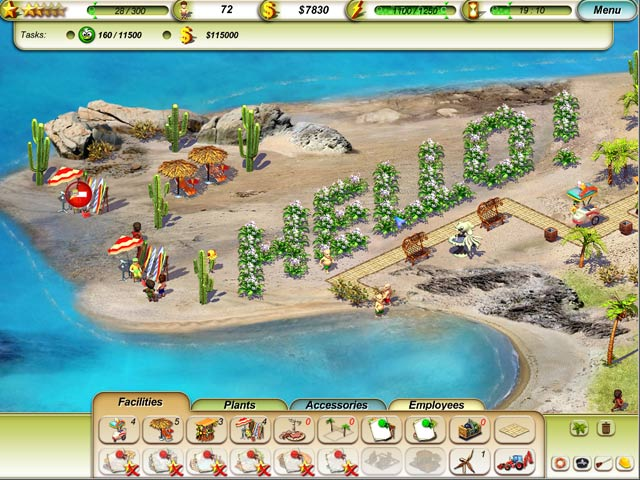 Game screenshot 1 Paradise Beach