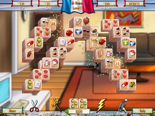 Game screenshot 1 Paris Mahjong