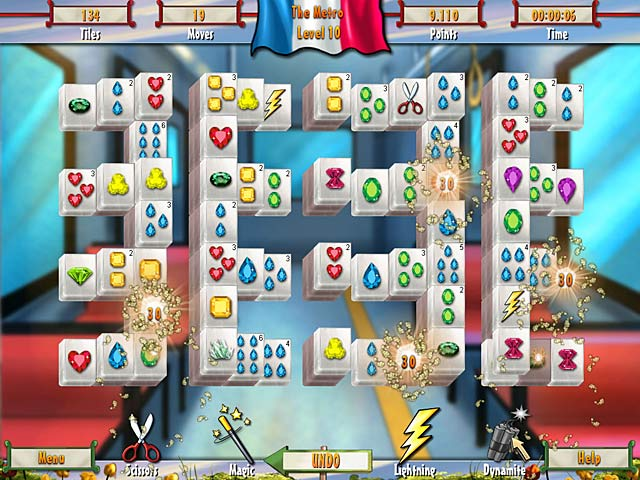 Game screenshot 2 Paris Mahjong