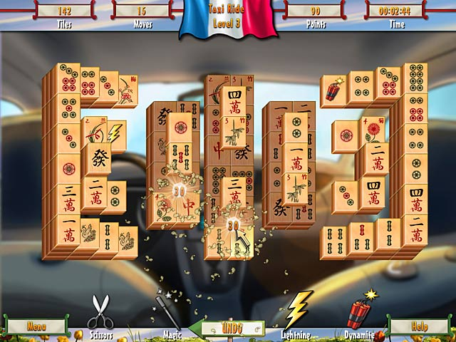 Game screenshot 3 Paris Mahjong