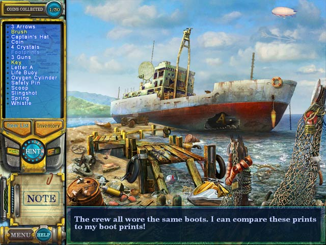 Game screenshot 1 Pathfinders: Lost at Sea