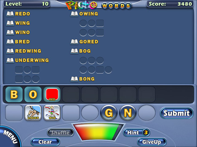 Game screenshot 1 PictoWords