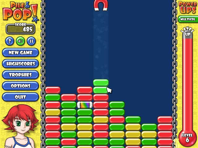 Game screenshot 1 Pile and Pop