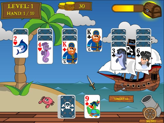 Game screenshot 2 Pirate Solitaire