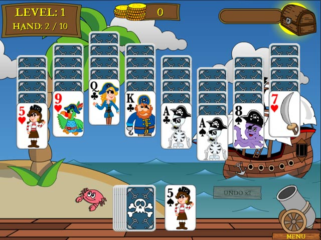 Game screenshot 3 Pirate Solitaire