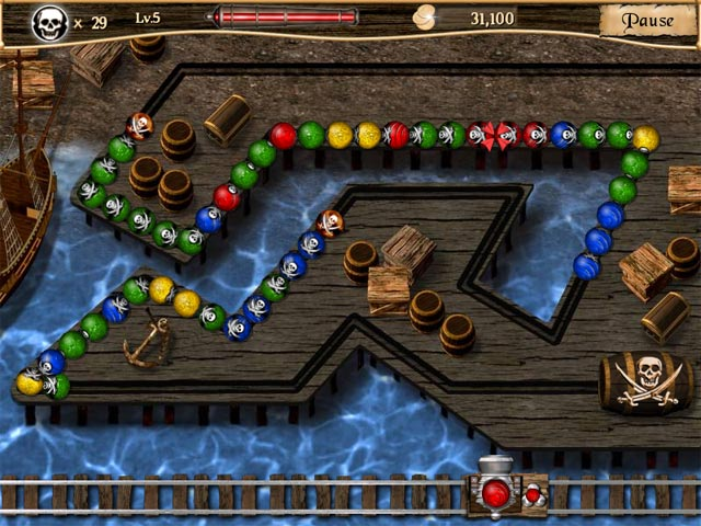 Game screenshot 1 Pirate Poppers