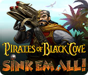 Feature screenshot game Pirates of Black Cove: Sink 'Em All!