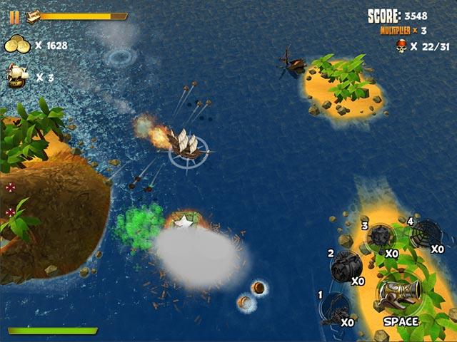 Game screenshot 1 Pirates of Black Cove: Sink 'Em All!