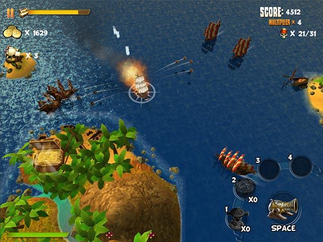 Game screenshot 3 Pirates of Black Cove: Sink 'Em All!