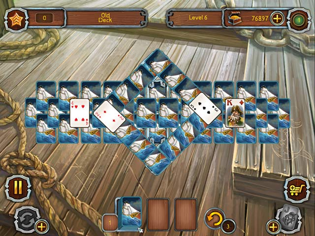 Game screenshot 1 Pirate's Solitaire 2