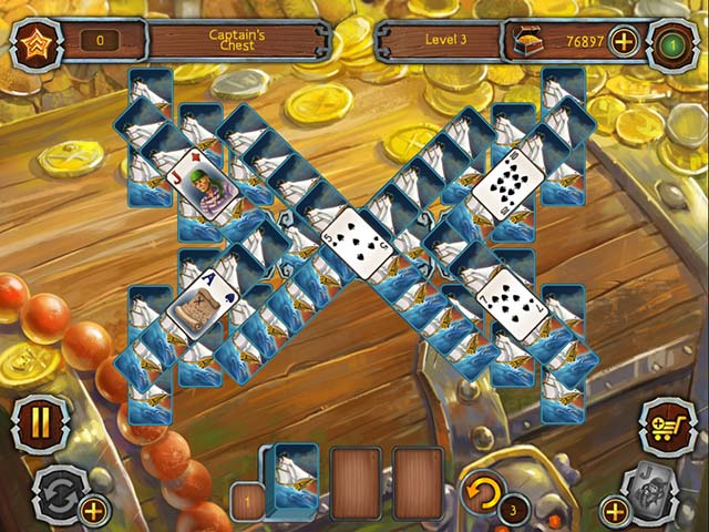 Game screenshot 3 Pirate's Solitaire 2