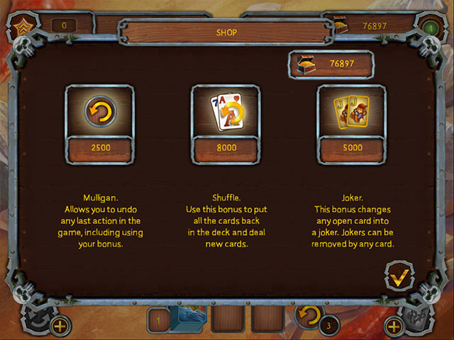 Game screenshot 1 Pirate's Solitaire