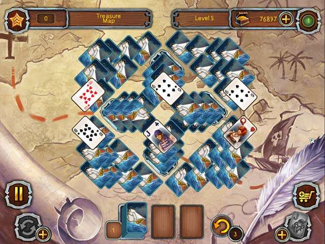 Game screenshot 2 Pirate's Solitaire