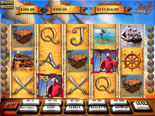 Pirates of the Pacific Slot Machine - Try for Free Online