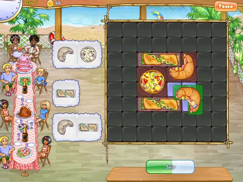Game screenshot 2 Pizza Chef 2