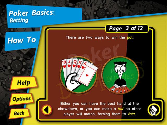 Game screenshot 2 Poker for Dummies