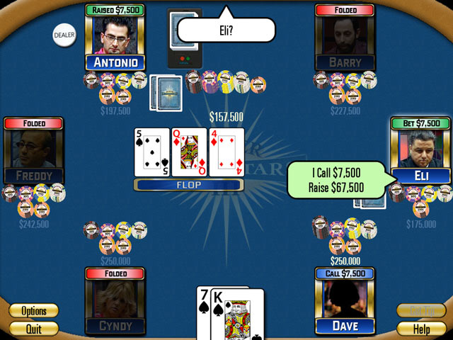 Play Poker Superstars III > Online Games | Big Fish