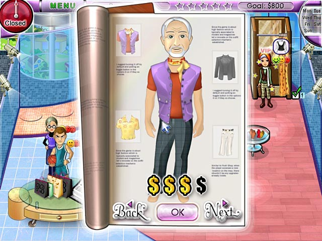 Posh clothing store :: Clothes stores